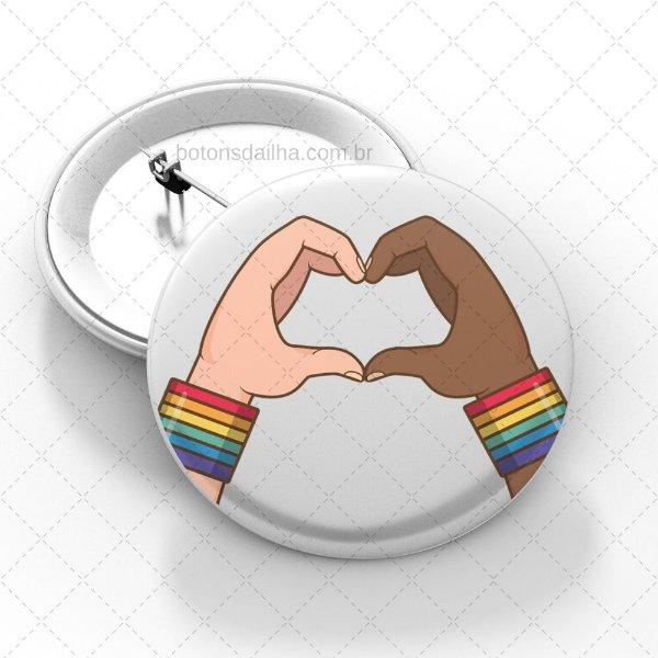 Boton LGBT - Modelo 13
