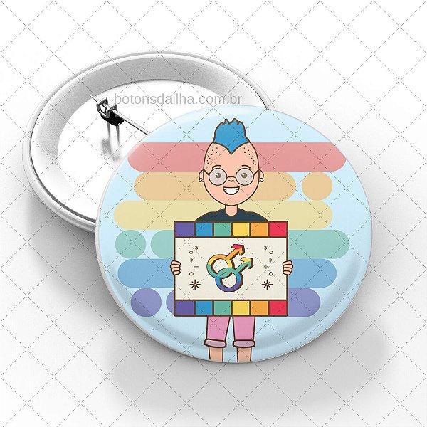 Boton LGBT - Modelo 20