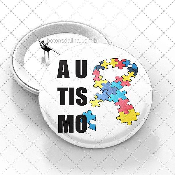 Boton Autismo - Modelo 24