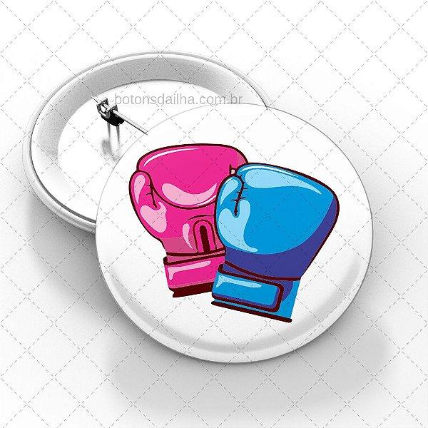 Boton Rosa e Azul - Modelo 07
