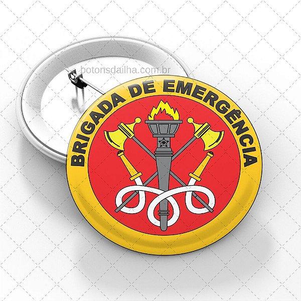 Boton Brigada de Incêndio  - Modelo 01