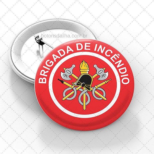 Boton Brigada de Incêndio  - Modelo 04
