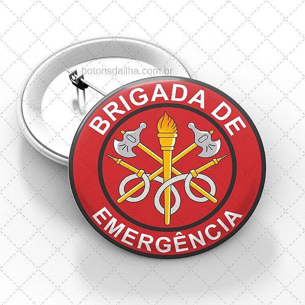 Boton Brigada de Incêndio  - Modelo 07