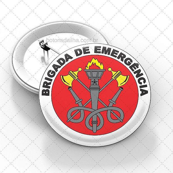 Boton Brigada de Incêndio  - Modelo 08