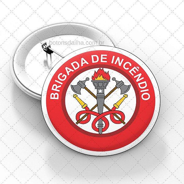 Boton Brigada de Incêndio  - Modelo 09