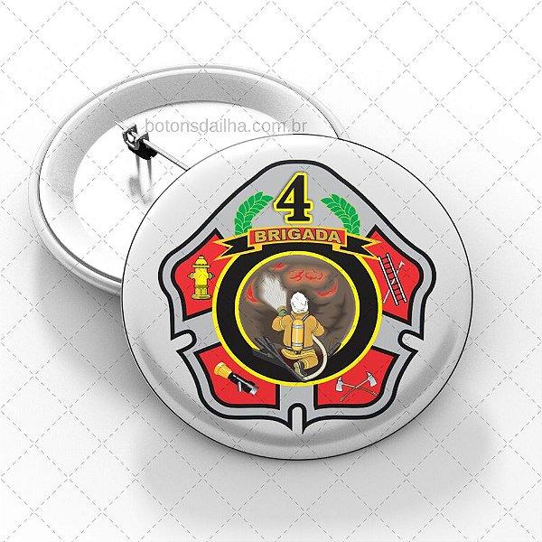Boton Brigada de Incêndio  - Modelo 13