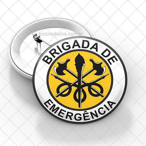 Boton Brigada de Incêndio  - Modelo 15