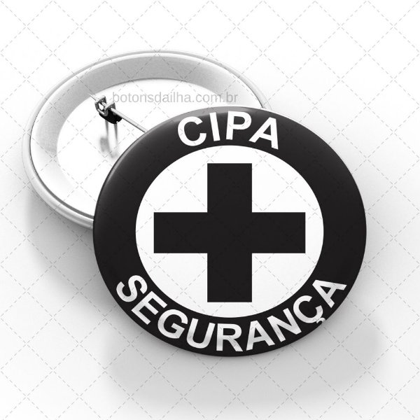 Boton CIPA Segurança  - Modelo 04