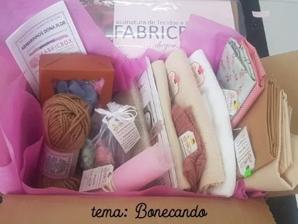 FABRICBOXdonaFlor Kit Bonecando