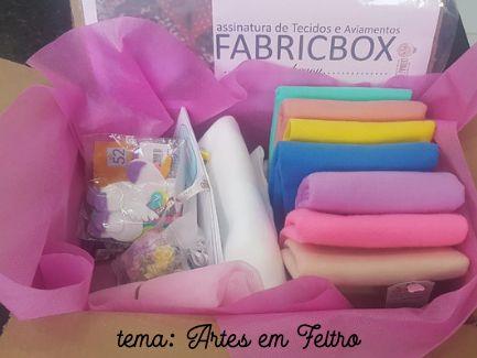 FABRICBOXdonaFlor Kit Artes em Feltro