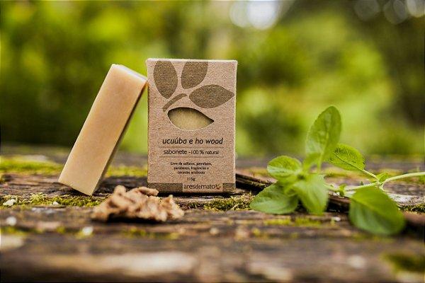 Sabonete Ucuúba e Ho Wood - Pele seca e delicada