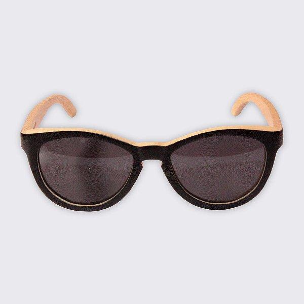 Óculos de Sol - Madeira - Brava Black