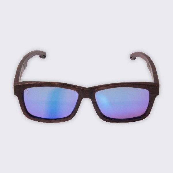 Óculos de Sol - Madeira - Paúba Blue