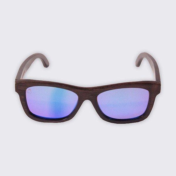 Óculos de Sol - Madeira - Campeche Blue
