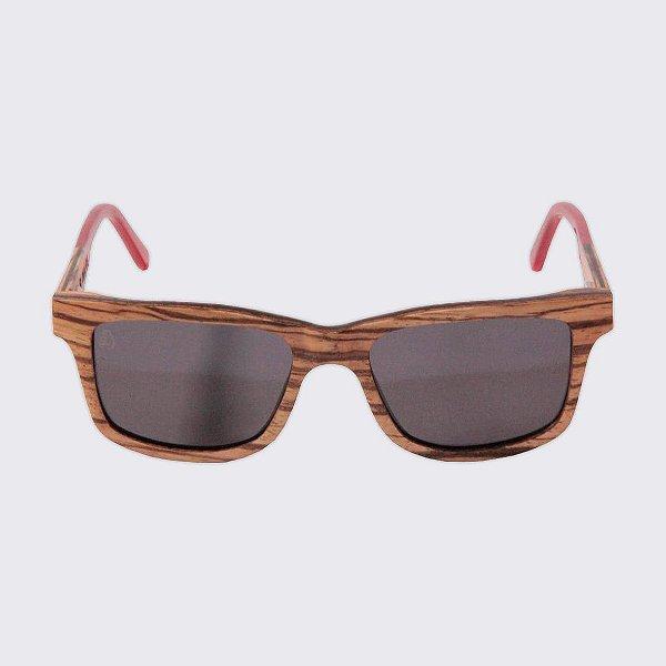 Óculos de Sol - Madeira - Camburi Pepper