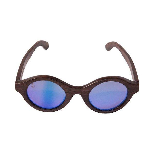 Óculos de Sol - Madeira - Itamambuca Blue