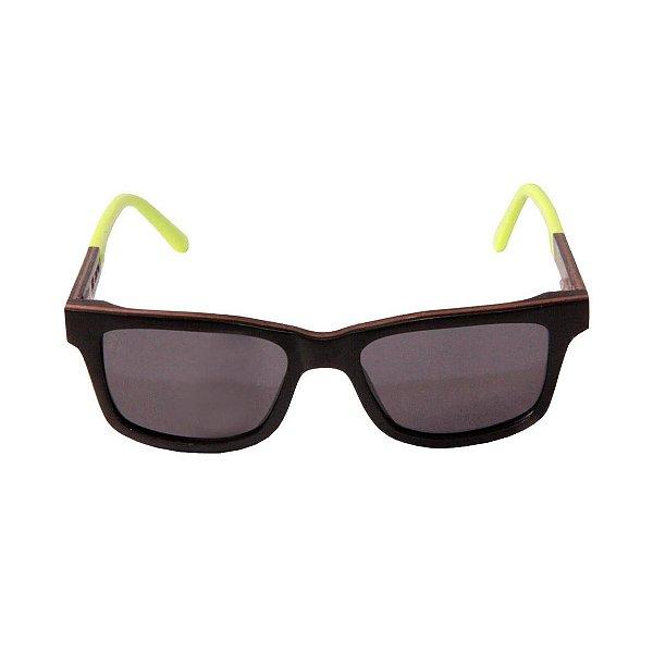 Óculos de Sol - Madeira - Camburi Lemon