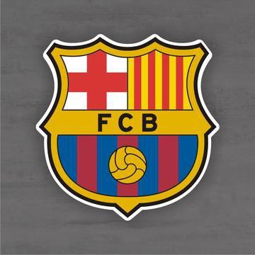 Quadro Decorativo de Times Futebol - Barcelona - Mdf 3mm