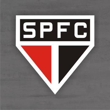 Quadro Decorativo de Times Futebol - São Paulo - Mdf 3mm