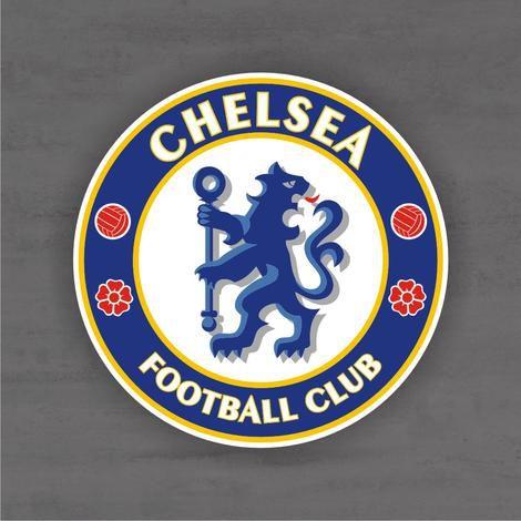 Quadro Decorativo de Times Futebol - Chelsea - Mdf 3mm