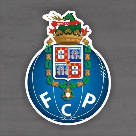 Quadro Decorativo de Times Futebol - Porto - Mdf 3mm