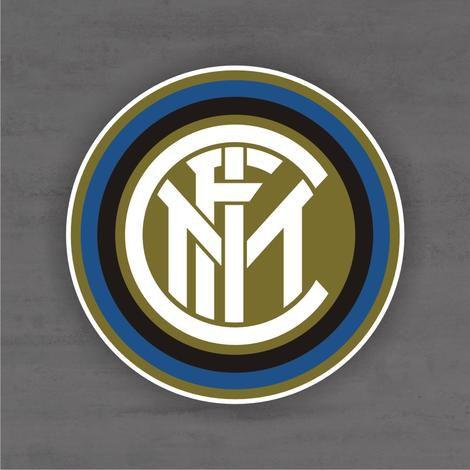 Quadro Decorativo de Times Futebol - Internazionale - Mdf 3mm
