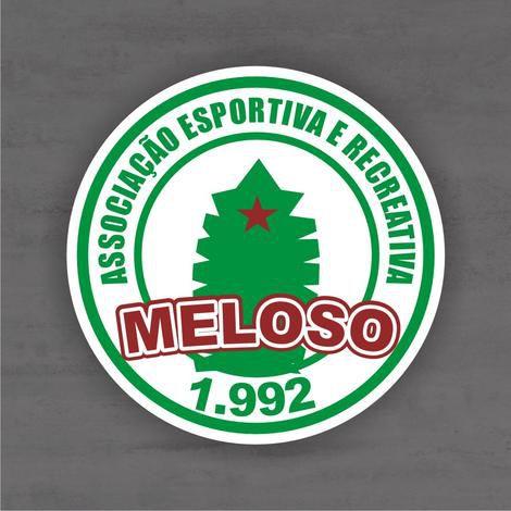 Quadro Decorativo de Times Futebol - Meloso - Mdf 3mm