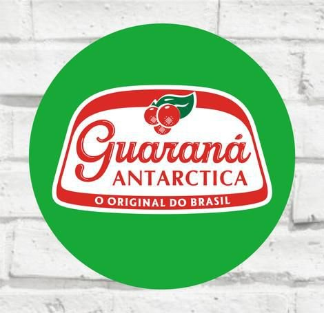Placa Decorativa - Guaraná - Medida 33x33cm