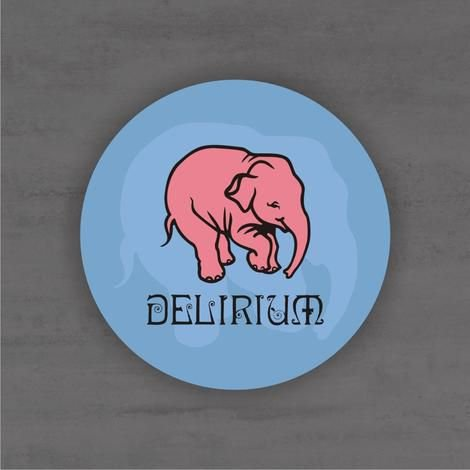Placa Decorativa - Delirium - Medida 33x33cm
