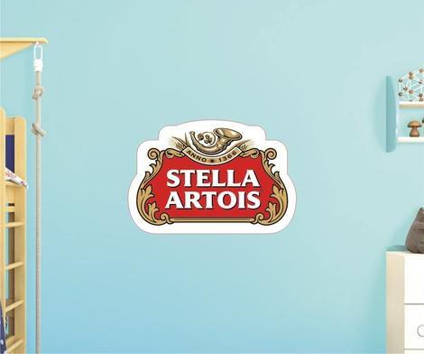 Adesivo De Cerveja - Stella Artois - Grande