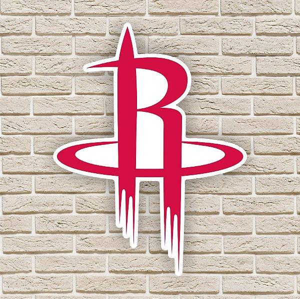 Quadro Decorativo Houston Rockets Nba Basquete