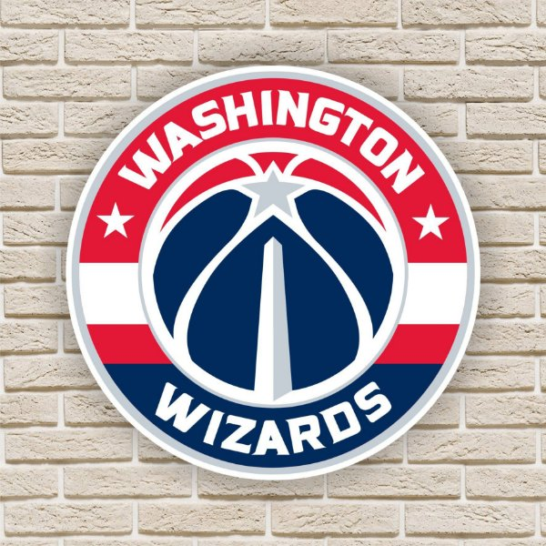 Quadro Decorativo Washington Wizards Nba Basquete