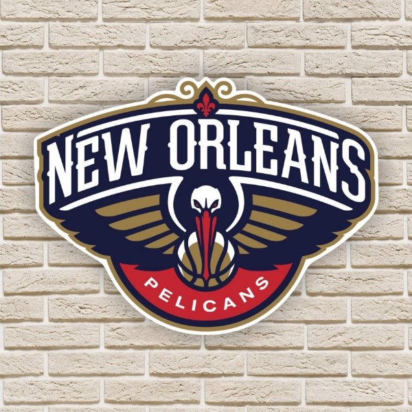 Quadro Decorativo New Orleans Pelicans Nba Basquete