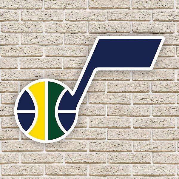 Quadro Decorativo Utah Jazz Nba Basquete