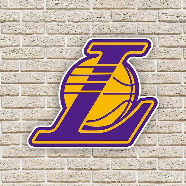 Quadro Decorativo Los Angeles Lakers Nba Basquete