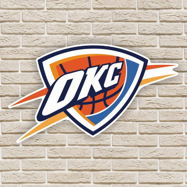 Quadro Decorativo Oklahoma City Thunder Nba Basquete