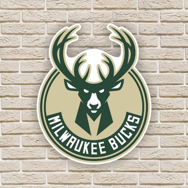 Quadro Decorativo Milwaukee Bucks Nba Basquete