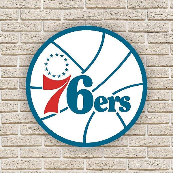 Quadro Decorativo Philadelphia 76ers Nba Basquete