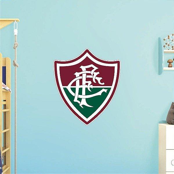 Adesivo De Time - Fluminense - Grande - Medida: 73cm x 64cm