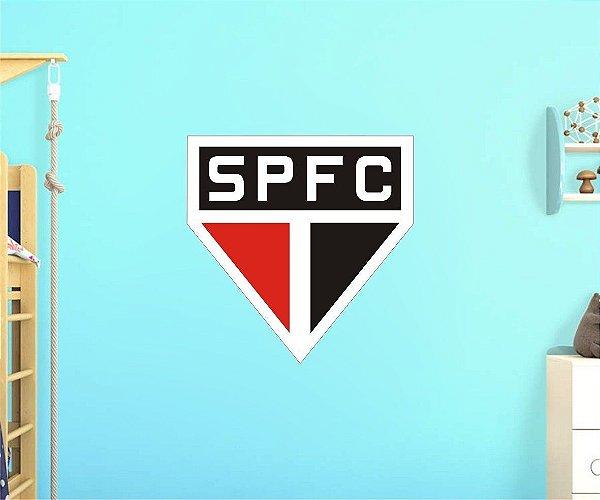 Adesivo De Time - São Paulo - Grande - Medida: 64cm x 64cm