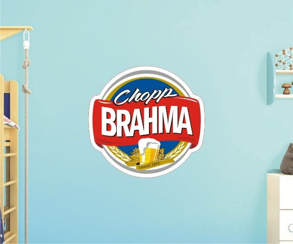 Adesivo De Cerveja - Brahma - Grande