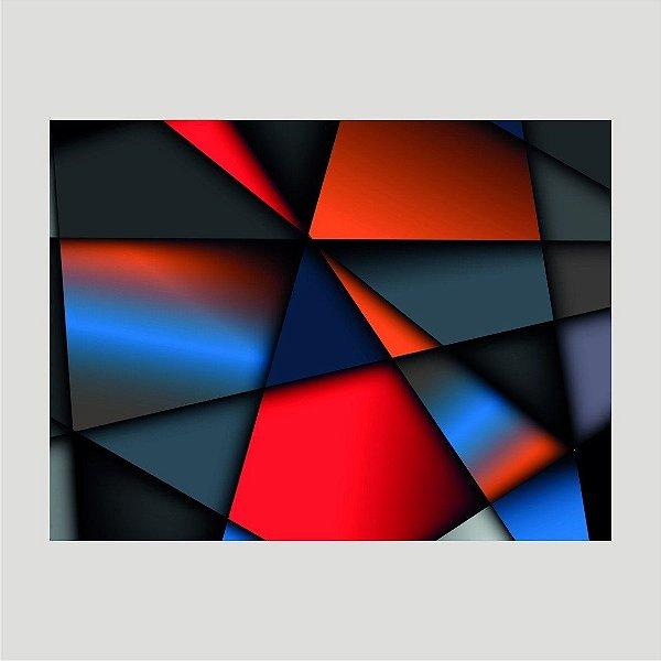 Quadro Decorativo Abstrato - Modelo 14