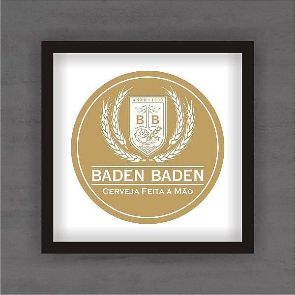 Quadro Decorativo Baden Baden Com Moldura