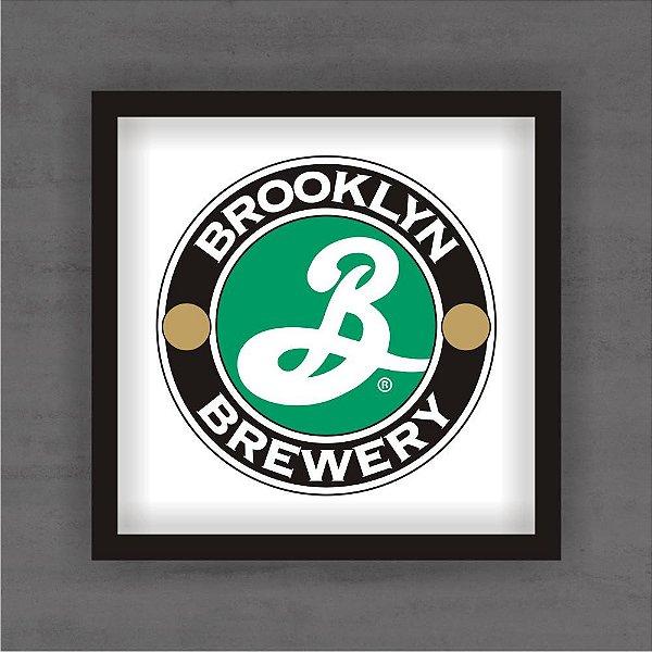 Quadro Decorativo Brooklyn Com Moldura