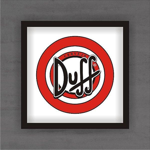 Quadro Decorativo Duff Com Moldura