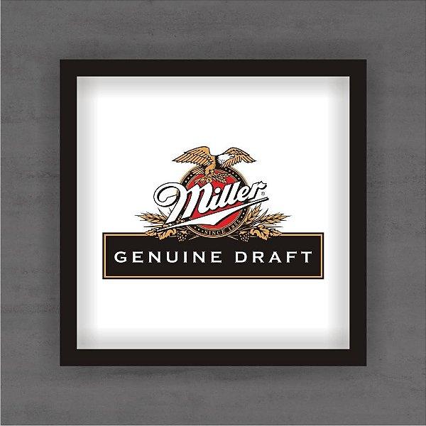 Quadro Decorativo Miller 2 Com Moldura