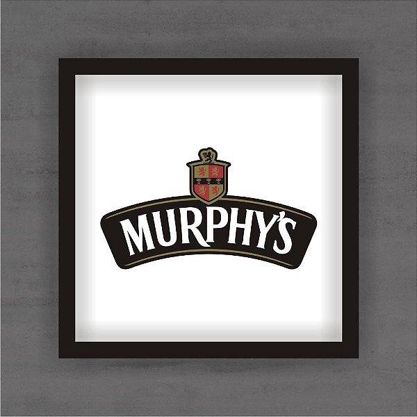 Quadro Decorativo Murphys Com Moldura