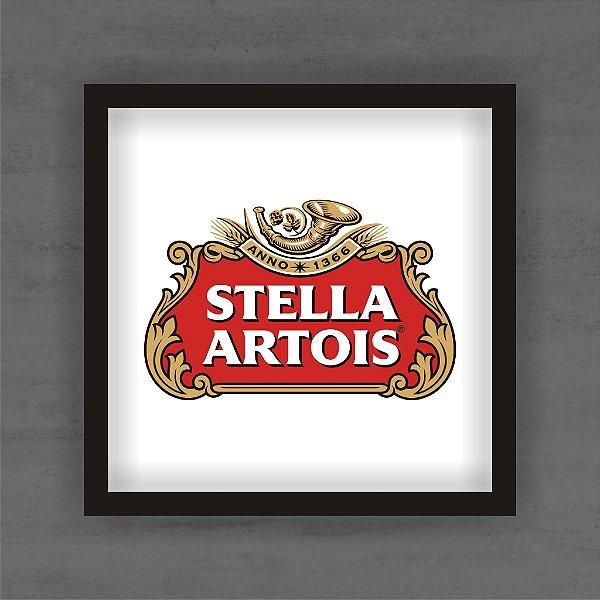 Quadro Decorativo Stella Artois Com Moldura