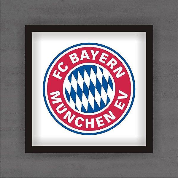 Quadro Decorativo Bayern de Munique Com Moldura
