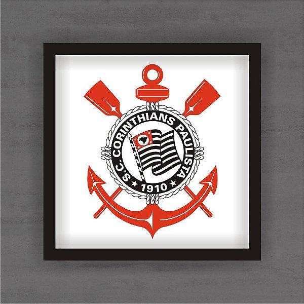 Quadro Decorativo Corinthians Com Moldura